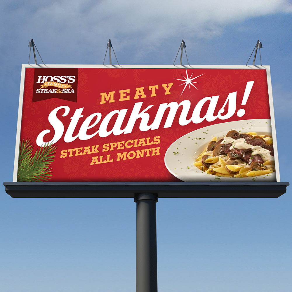 Meaty Steakmas! Steak specials all month